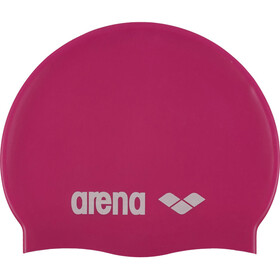 arena Classic Silicone Badehætte Børn, fuxia-white
